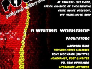 POWO Writing Workshop; 18th February at PAWA254