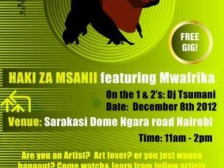 Haki Za Msanii featuring Mwafrika