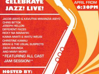 Celebrating International Jazz day 30th April the Kenyan way