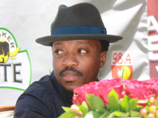 Atemi Oyungu to warm up the stage for Anthony Hamilton at the Tusker Lite Experience