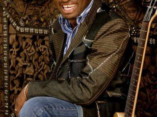 Nigerian Jazz Guitarist Kunle Ayo for the Safaricom International Jazz Festival evening