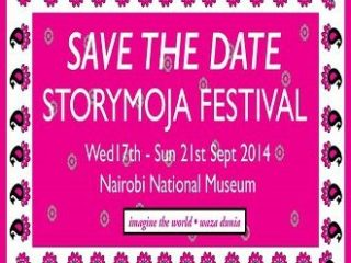 Imagine the world with me at the StoryMoja Festival 17th – 21st Sept