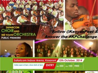 Win tickets to the Safaricom Choir & Youth Orchestra Premier Concert