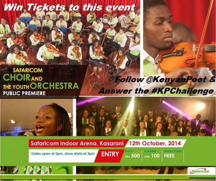 promo Safaricom Choir and Youth Orchestra Premier concert