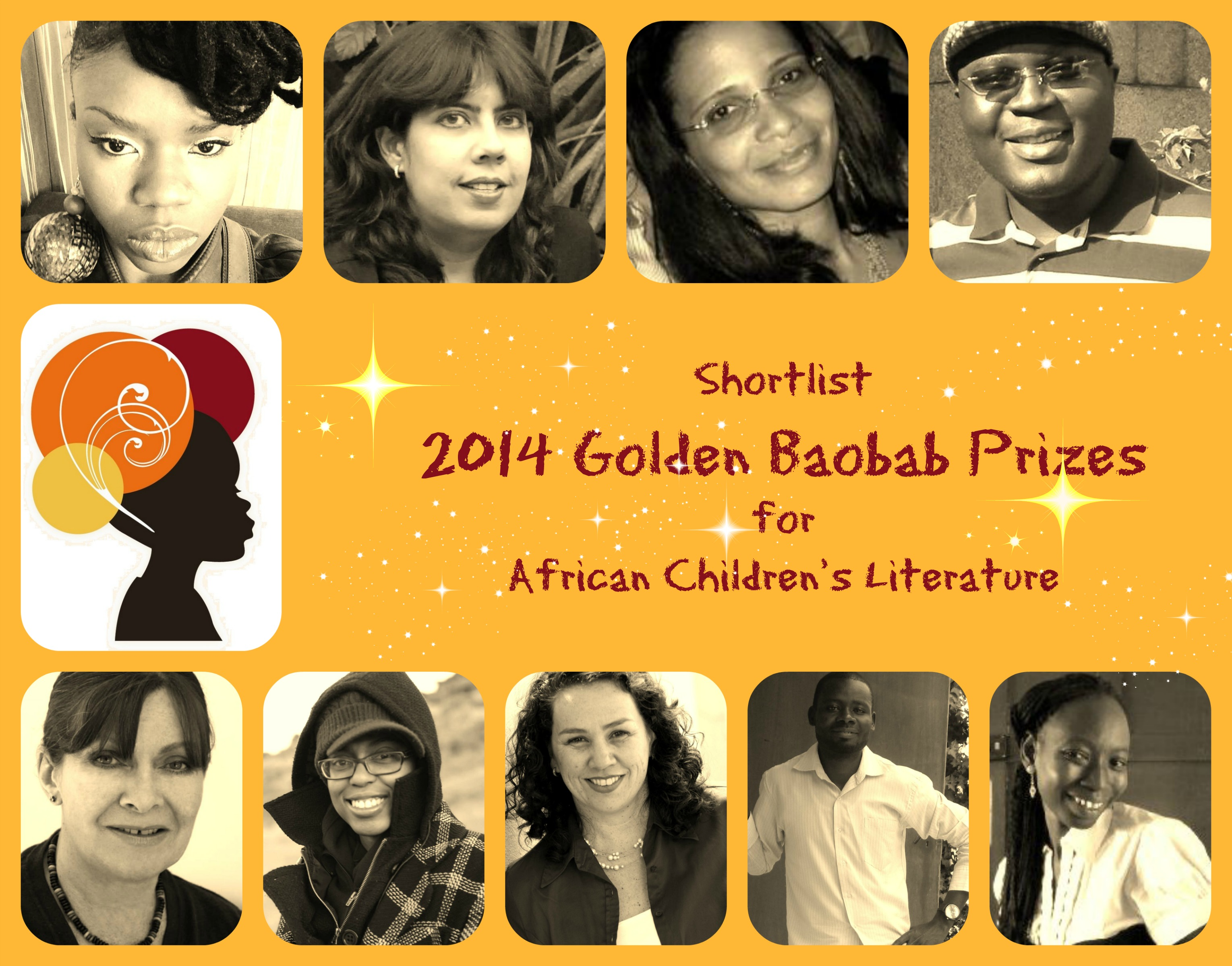 Golden Baobab shortlisted Writers  for Children's Literature