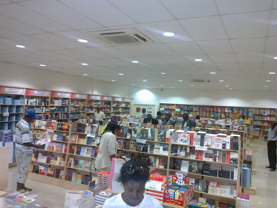 The new Grey Matter Book Store  owned by Bookpoint in Malawi