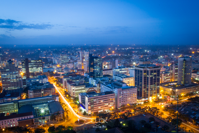 The Nairobi Dusk image by Mwangi Kirubi (Mwarv) that was plagiarised by Easy Taxi