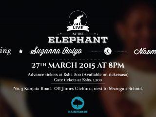 Naomi Wachira to perform alongside Suzanna Awiyo live at the Elephant on 27th March