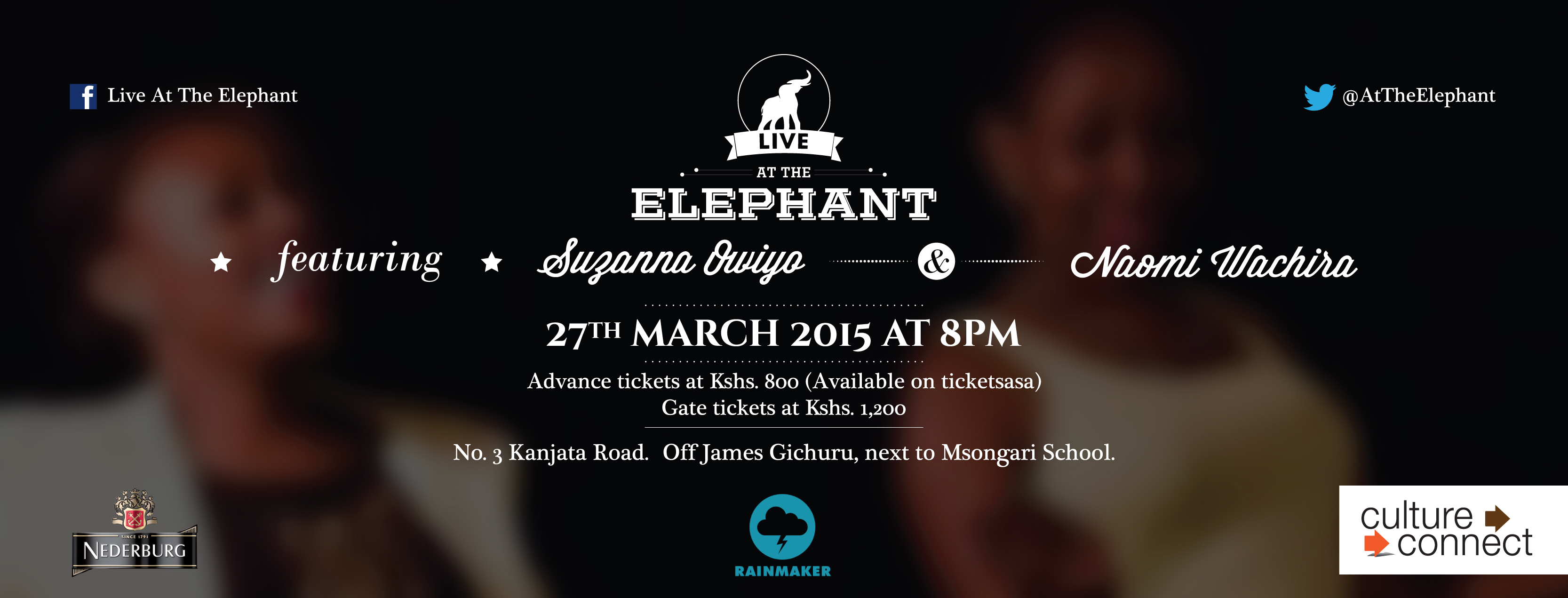 SUzanna Owiyo and Naomi Wachira live at the Elephant