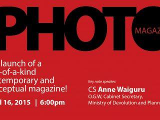 CS Ann Waiguru to launch African Photo Magazine on 16th April