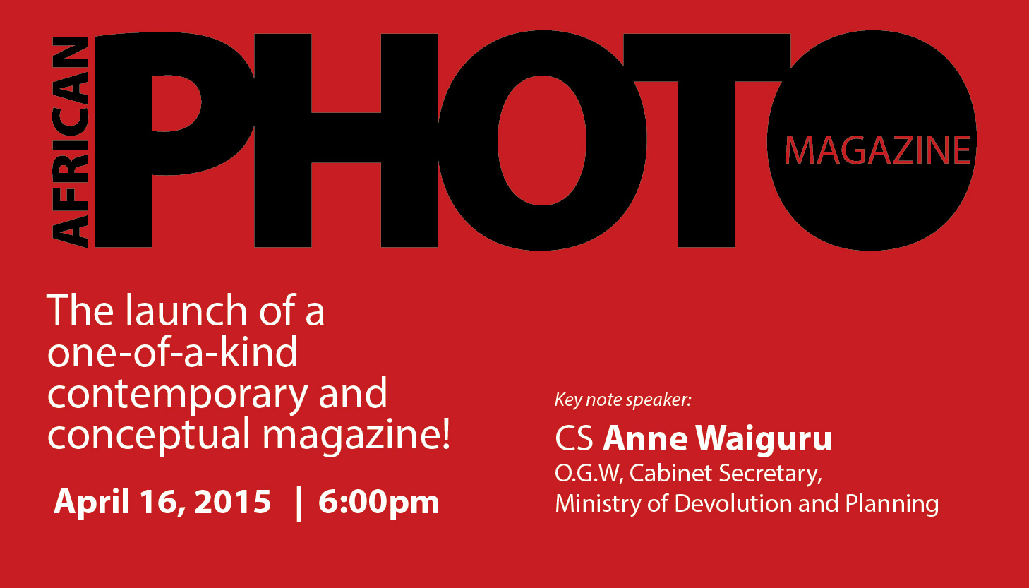 African Photo Magazine launch