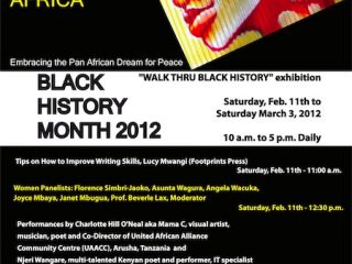 Black History Month 2012 – Celebrating the Daughters of Africa