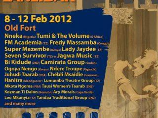 Sauti za Busara 2012 from 8th – 12th Feb