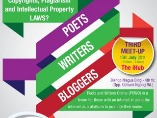 POWO July: Copyright & Intellectual Property Laws, 16th July at iHub