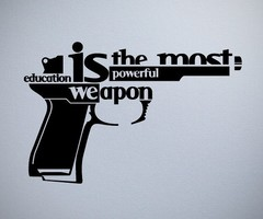 Poem: Words and guns